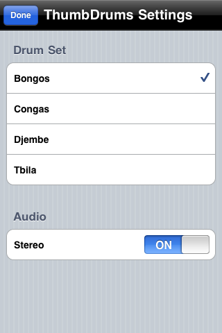 Settings (iPhone)